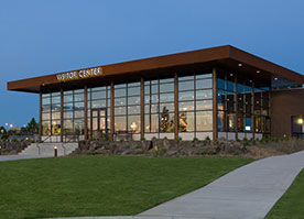twin falls visitor center new