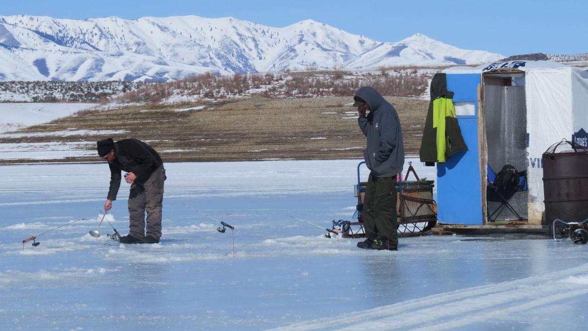 Fishing hot spots for Ice fishing idaho