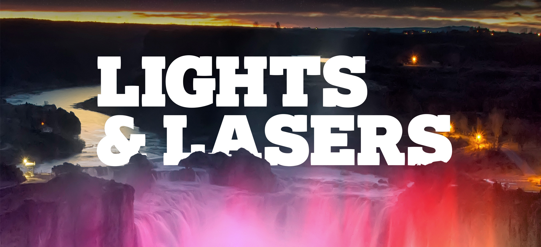 Lights & Lasers At Shoshone Falls Presented by Jayco
