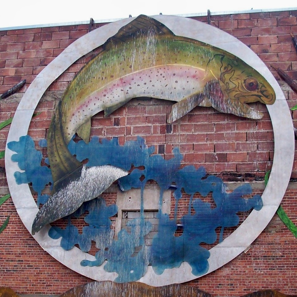 Buhl Trout Mural