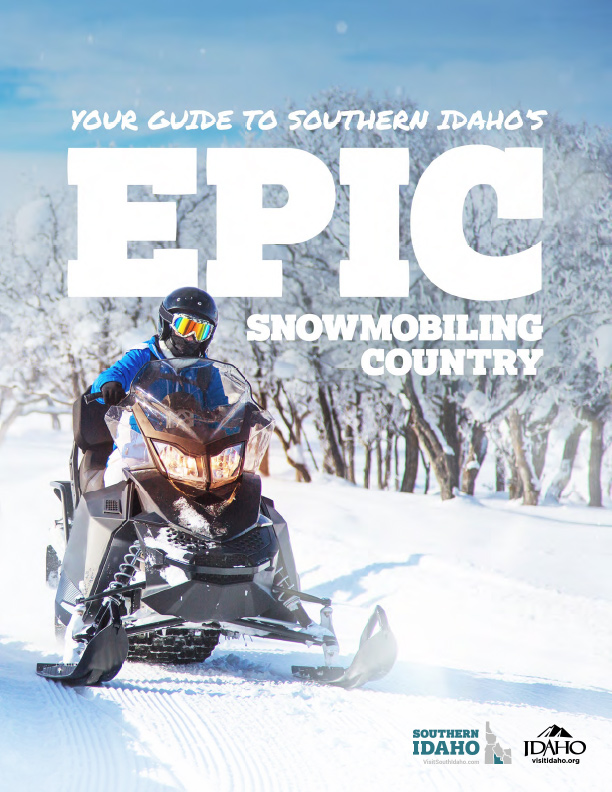 snowmobiling in Southern Idaho
