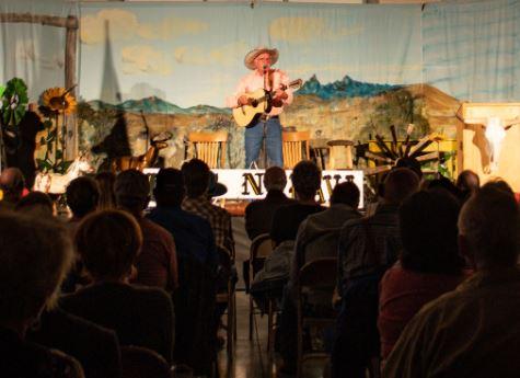 Lost N Lava Concert, Cowboy Poetry, Shoshone Idaho