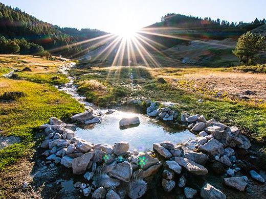 Worswick Hot Springs, Fairfield Idaho