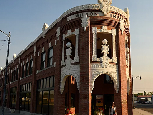 Wilson Theatre, Rupert Square, Historic Downtown, Idaho