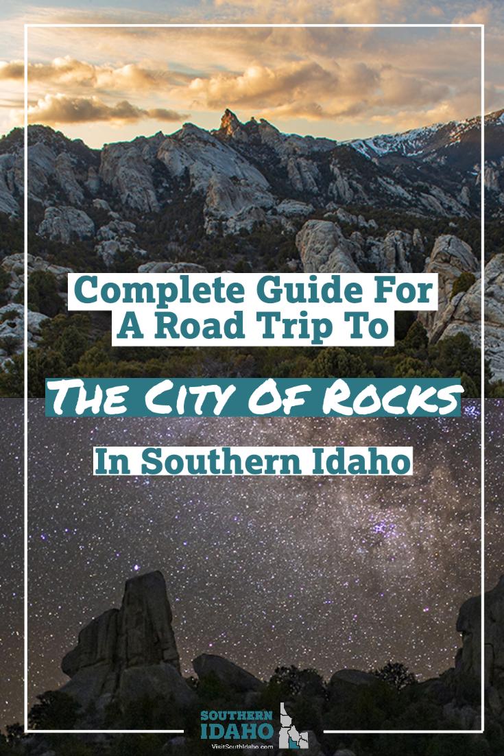 City of Rocks, Road Trip, Almo, Oakley, Burley, Idaho
